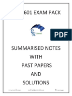 AUE2601 Exam Pack GR