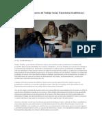 CECILIA MORALES Feminizacion de La Carrera de Trabajo Social