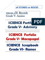 SCIENCE Portfolio