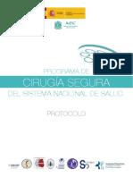 Protocolo Proyecto Cirugia Segura