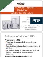 Alcatel Access System Division MM BIztel 5 IMT