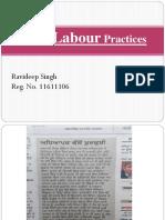 Unfair Labour Practices