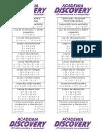 Leyes Del Álgebra Proposicional