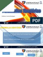 Aula 3 - Anomalias Dentarias