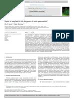 Lipase or Amylase for the Diagnosis of Acute Pancreatitis