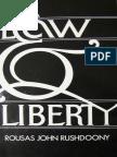 R. J. Rushdoony - Law and Liberty