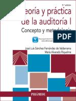 Teoría y práctica de la auditoría I concepto y metodología (