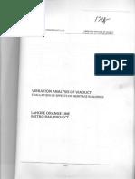 Construction Phase Vibration Report Nespak