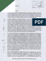 Carta de ex jefes institucionales, directores nacionales de la DNAH y amigos del AGN (Rpta de Lecciones que no debemos olvidar)