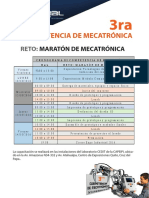 Cronogramas 3ra Competencia de Mecatrónica-1