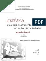Violencia Sofrimento Trabalho Assedio Sexual
