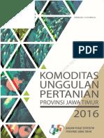 Komoditas Unggulan Pertanian Provinsi Jawa Timur 2016