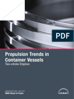 Propulsion Trends in Container Vessels