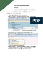 SAP GTA Configuration for Posting
