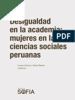Alcázar & Balarin (2018) Desigualdad en La Academia_Grupo Sofía