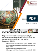 Lecture 3 Environmental Laws