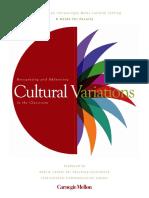 Cultural Variations