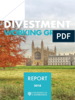 Divestment Working Group Final Report