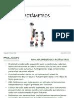 Apresentação Rotâmetros