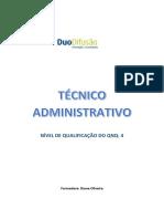 Técnico Administrativo rvcc