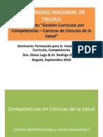 Competencias Ciencias Salud 2010 Unt