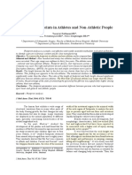 1. a Study of Footprints in Athletes and Non-Athletic People