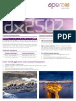 FT DX2507 en Web