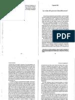 1.11. El Avance de la Insignificancia - Cap 8 La crisis del proceso identificatorio - Castoriadis.pdf