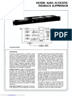 1620a Signal Processing