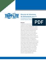 Tripp Lite White Paper Soluciones de Enfriamiento Para TI
