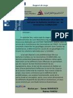 Conception Et Réalisation Dun Banc de Test Pour Les Batteries Montées Sur Les Locomotives