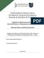 Analisis Nivelacion Fiscal