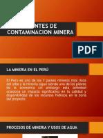 Fuentes de Contaminacion Minera