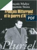 Francois Mitterand Et Algerie