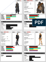 ICONS RPG Marvel Characters