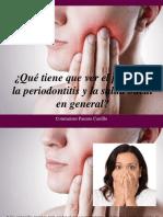 Constantino Parente Castillo - Qué Tiene Que Ver El Peso Con La Periodontitis y La Salud Bucal en General