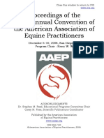 Proceedings of the 54th  Annual Convention of the American Association of Equine Practitioners