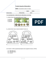 Prueba Sumativa Matematica Control 1