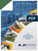 Catálogo Produtos Perfilados Rio Doce 2018