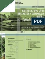 CENTRO CULTURAL-CÍVICO BIOCLIMÁTICO Y SOSTENIBLE EN IQUITOS - 11.07.17.pptx