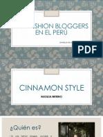 Las Fashion Bloggers en el Perú