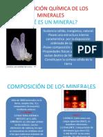 Composición Química de Los Minerales