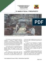 Lectura B Manejo Fiscal y Presupuesto