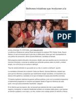 19/05/2018 Propone Sylvana Beltrones iniciativas que involucren a la sociedad
