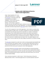 New Industrial PC with 6 Intel GbE Ports for High Bandwidth Video Applications