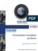 Presentation Aerofoam Nigeria Mar12