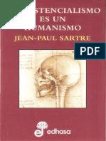El Existencialismo Es Un Humanismo (Sartre)
