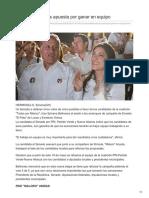 20/05/2018 Sylvana Beltrones Apuesta Por Ganar en Equipo