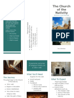 pilgrimage brochure