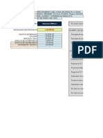 Presupuesto de Canal PUNO en SRW7pro
